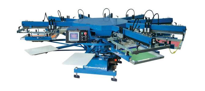 دستگاه چاپ سیلک روی پارچه