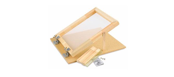 ساخت دستگاه چاپ سیلک دستی